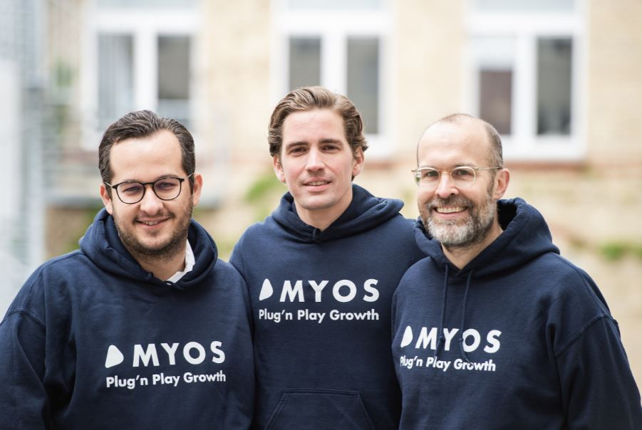 The founds of Myos, the startup using AI to improve credit risk scoring and lending for small retailers