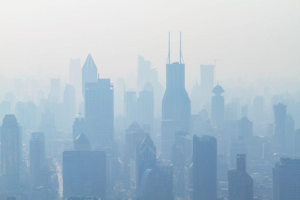 shanghai smog air pollution