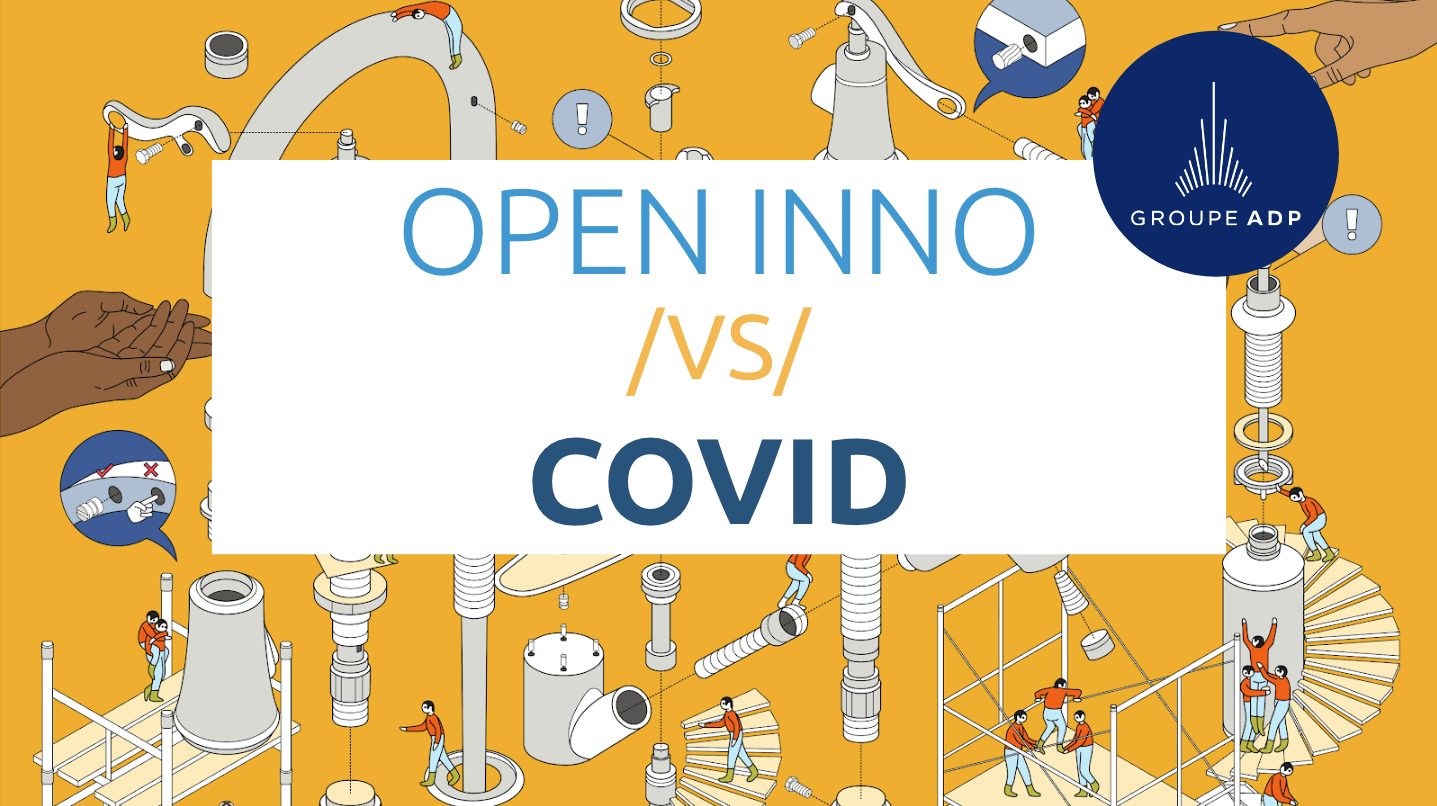 open innovation face covid-19 - opportunité ADP