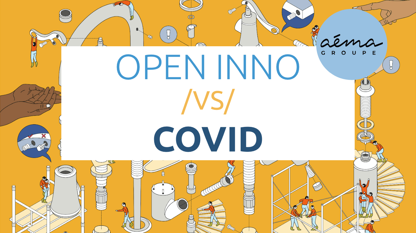 open innovation covid-19 - podcast avec aema groupe