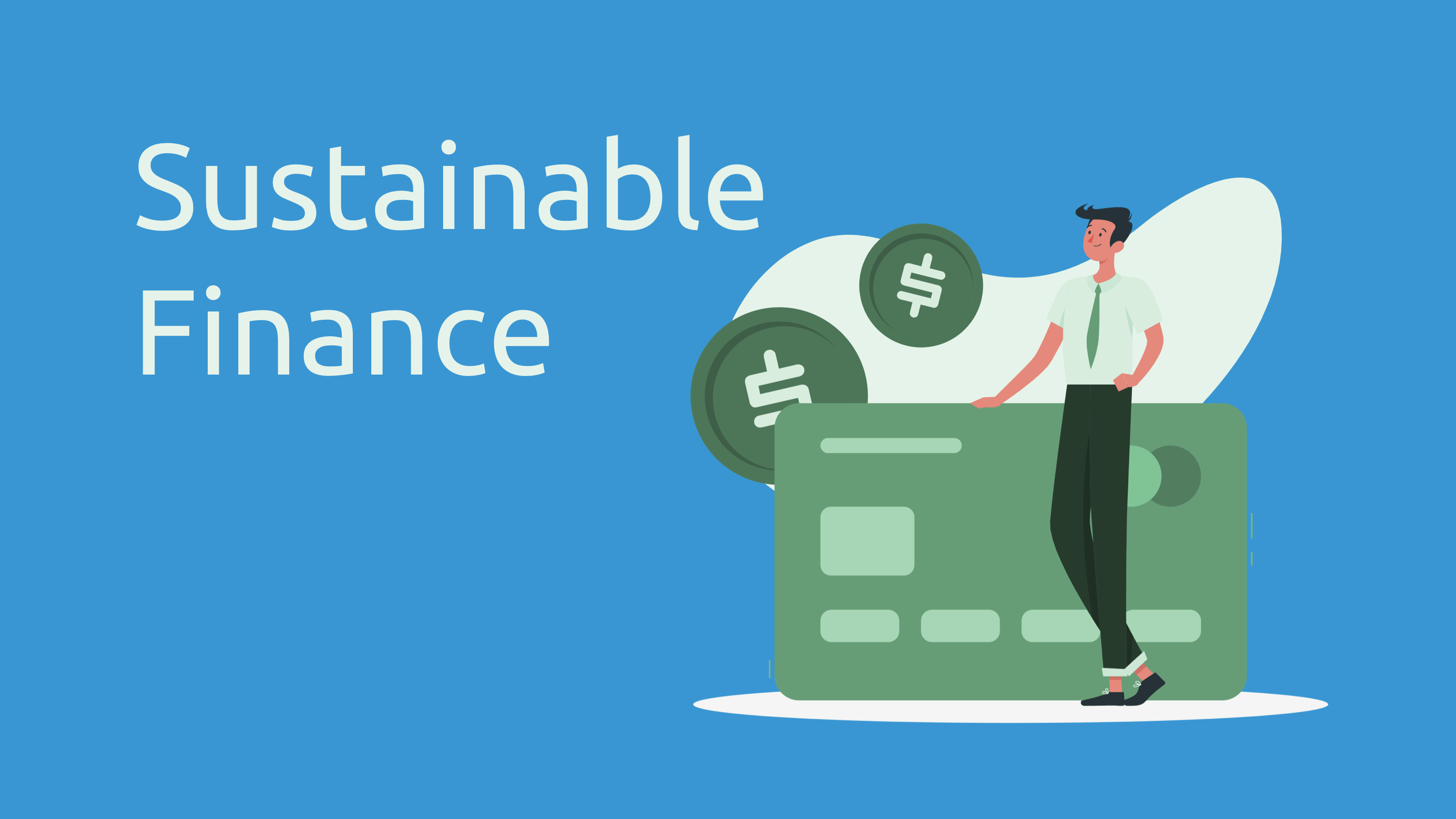 sustainable finance trends and stats - infographic