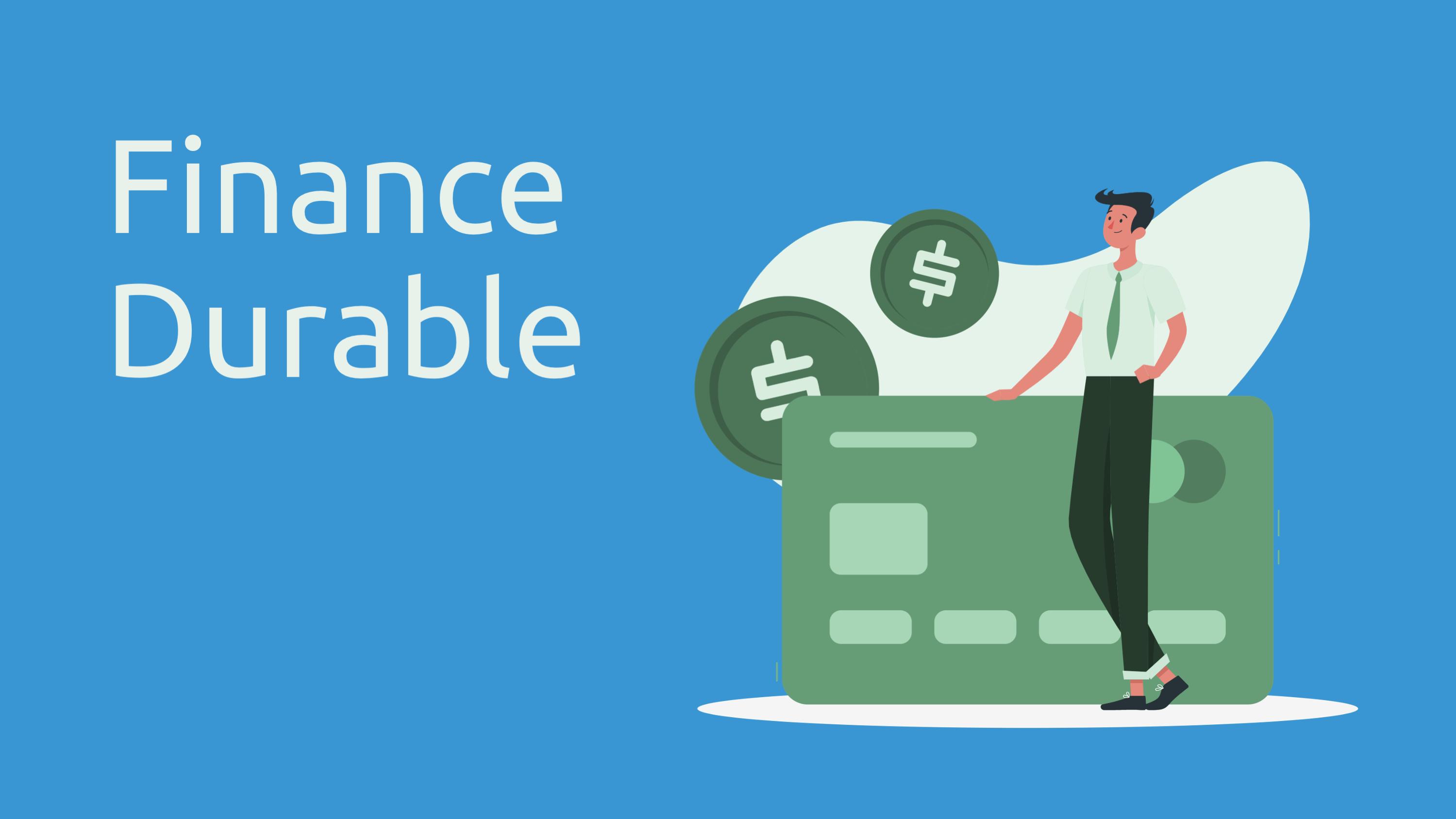 tendances clés de la finance durable - illustration carte de paiement