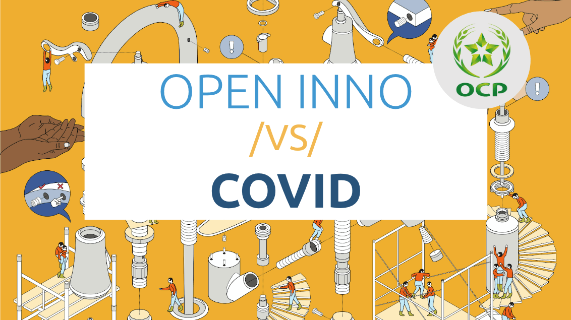 open innovation face au covid-19 - podcast avec OCP group