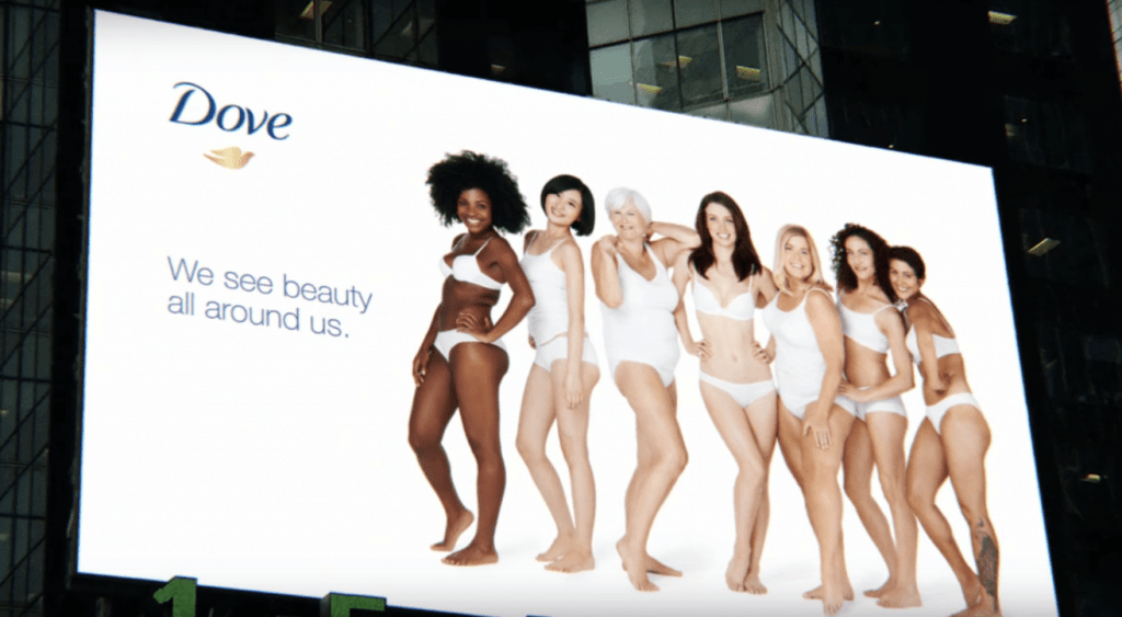 Dove's 'Real Beauty' campaign